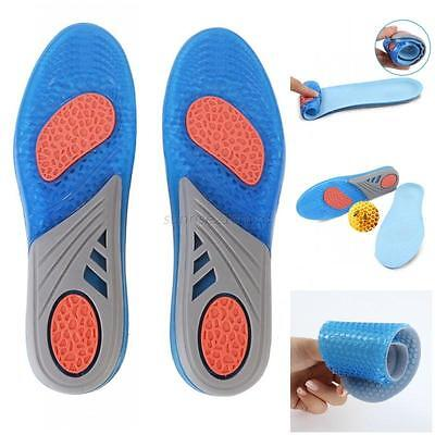 Silicone Gel Insoles Orthotic Arch Support Shoe Pad Sport Running Cushion Insert