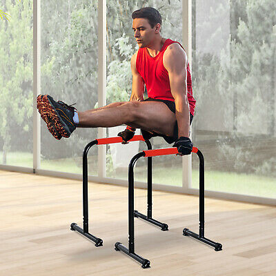 Soozier Push Up Stands Parallel Strength Training Exercise Bars Workout Home Gym