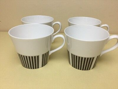 Vintage Royal Osborne Caprice 4 x Replacement Cups Lovely Condition