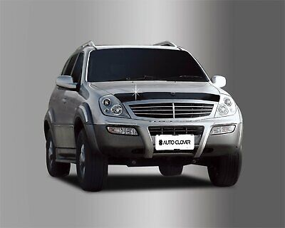 Auto Clover Bonnet Hood Guard Set for SsangYong Rexton 2003 - 2007