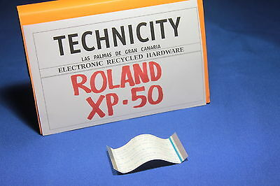 Roland Xp - 50 - Mainboard Flex Cable  - Cable Placa Madre  - Original - Tested