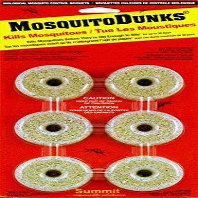 Summit 110-12 Mosquito Dunks 6-Pack Non-Toxic Summit Chemic New
