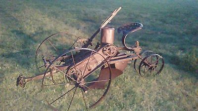 Antique Primitive Farming Horse-Drawn Parlin & Orendorff Corn Planter