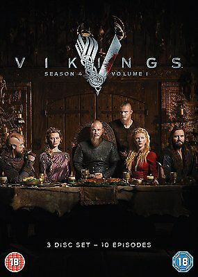VIKINGS SEASON 4 PART 1 * Brand New and Sealed * Free Postage