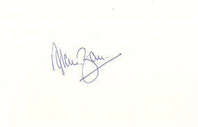Alan Ball - England 1966 World Cup Footballer - Hand Signed White Card.