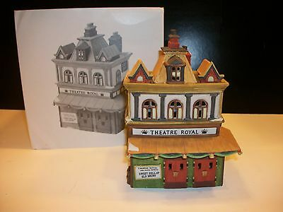 Dept 56 Dickens Village *theatre Royal* 55840 Retired In Box 1992 Mint