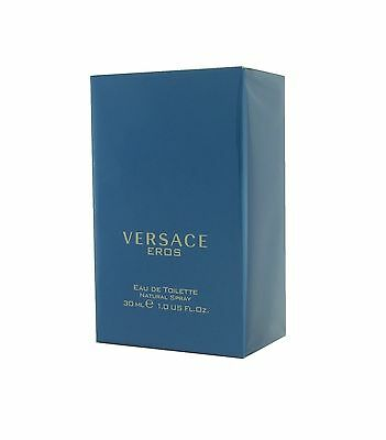 Versace Eros Eau de Toilette EDT for Men New and Sealed 30ml