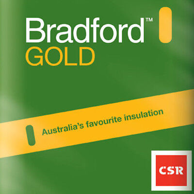 Gold Ceiling Batts - R3.5 - 580 x 1160 (185mm thick - 6.7m2/pack)