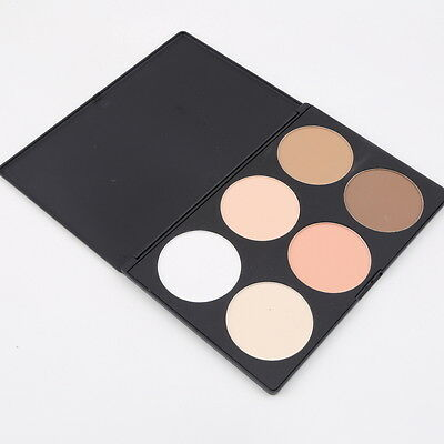 New 6 Color Makeup Cosmetic Blush Blusher Contour Palette Makeup Pressed Powder