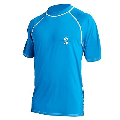 Scubapro Rash Guard Loose Fit T-Shirt UPF 50 blau