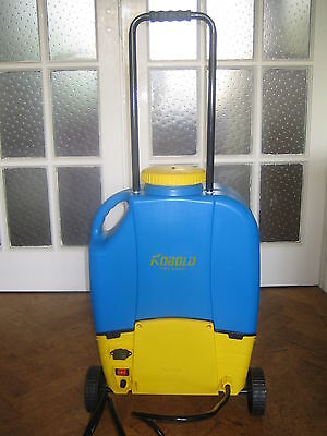 Window Cleaning Backpack/Trolley for use with water-fed pole.Variable speed. New