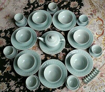 Fantastic 41 Piece Vintage Chinese Porcelain/China Dinner & Tea Service