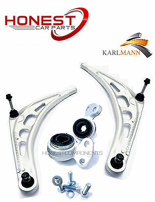 For BMW 3 SERIES E46 1998-2008 FRONT SUSPENSION LOWER WISHBONE ARMS & BUSHS KIT