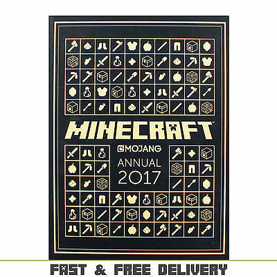 The Official Minecraft Annual 2017 Hardcover Challenges Book Christmas Gift Idea