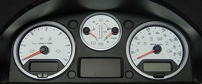 Land Rover Defender WHITE Dial Conversion