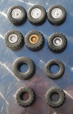 1/50 scale odd Heavy haulageTruck wheels and Tyres EX Asam / Heart Models.