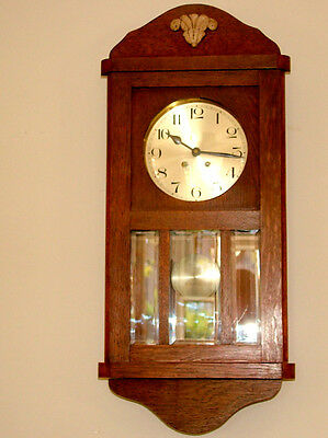 Wurttemberg Antique Wall Clock( Circa 1900-1920
