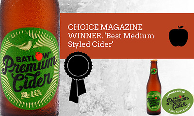 Batlow Premium Cider, 2012 Choice Magazine Cider Winner