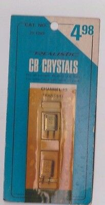 Radio Shack CB Radio Crystals 21-1213 Channel 13 Realistic Fast Free Shipping!