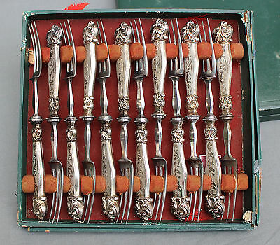 19th Century Continental Cutlery Set