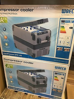 Waeco CoolFreeze CFX-40 portable compressor coolbox, brand new, boxed to Denmark