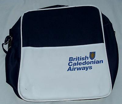 Vintage British Caledonian Airways Flight Crew Bag