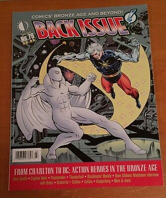 TwoMorrows BACK ISSUE #79: Charlton Comics Issue w/ Captain Atom cover