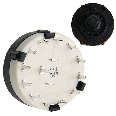 Switch 1 Pole Position 12 Selectable RS26 Band Rotary Channel Selector