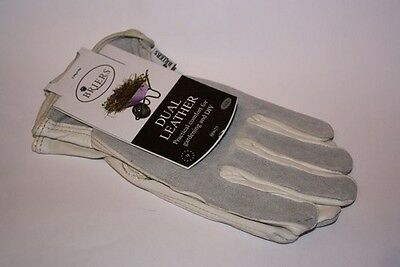 Briers Dual Leather Gardening Glove - Large #5L205