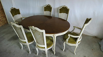 Henredon French Dining Room Set Chairs Table Designer