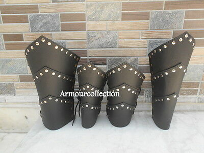 Leather Ancient Vambrace Medieval~Arm & Leg Guard Halloween~Armoury_Gift