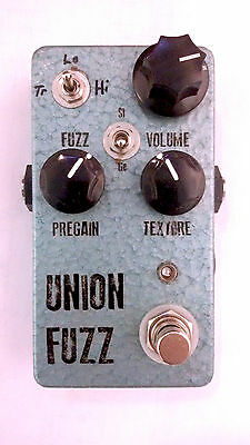 "JDM Pedals ""Union Fuzz"" Switchable Silicon & Germanium Fuzz Boutique Quality!"