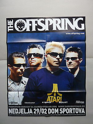 The Offspring / 29.02.2004 / Zagreb / Original Croatian Concert Poster
