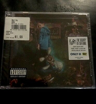 Korn Rotting in Vain CD Single Best Buy Exclusive w/ Coupon BRAND NEW