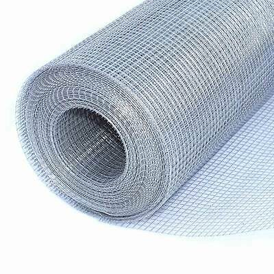 "ALEKO Metal 25ft Mesh Wire Roll Cloth 16 Gauge Steel 24x25 1"" Mesh WM24X25M1G16"