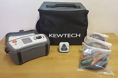 KEWTECH KT64 MULTIFUNCTION TESTER WITH R2 SOCKET Incl 1 YEARS CALIBRATION (SH)