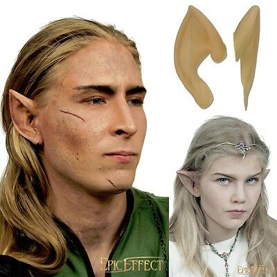 Latex Elven Ears Prothetic - Perfect For Costume, Theatre & LARP