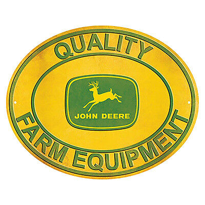 John Deere Vintage Oval Sign