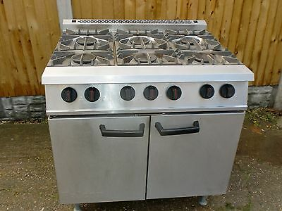 Commercial 6 burner Cooker. WE ALSO BUY CATERING AND BAR EQUIPMENT