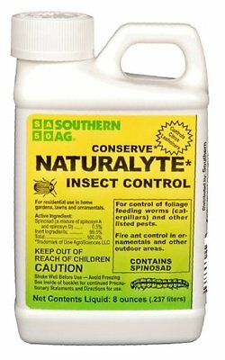 Conserve Naturalyte Insect Control w/ Spinosad 8oz OMRI Organic Southern Ag