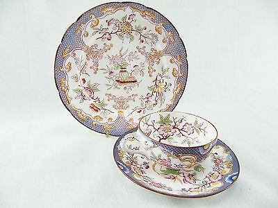 Sarreguemines Teacup And Saucer Set Minton 217 Plus Dessert Plate 247