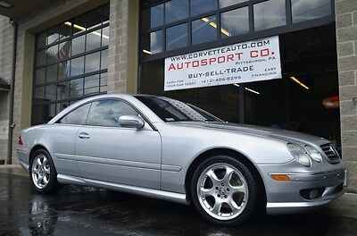2002 Mercedes-Benz CL-Class Base Coupe 2-Door 2002 Mercedes Benz CL55 AMG ~ Loaded Up ~ Only 69k Miles ~ New Tires!!