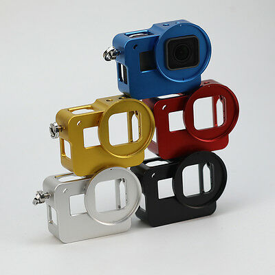CNC Aluminum Alloy Housing Shell Protective Cage Frame for GoPro Hero 5 SJCAM HY
