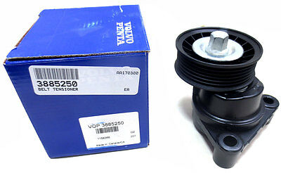 Genuine OEM Volvo Penta Belt Tensioner, Serpentine Pulley - 3885250