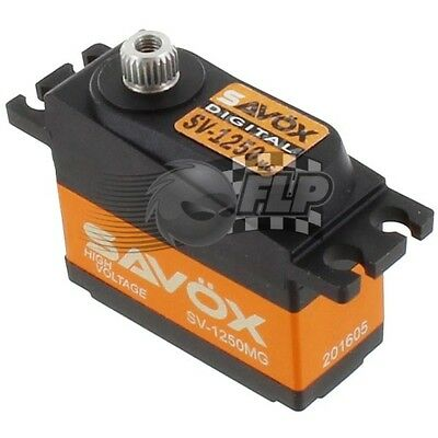 Savox SV-1250MG Mini Digital HV Cyclic Servo 8KG/0.095@7.4V