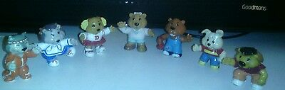 "Vintage 1980s Get Along Gang 2"" Figure Collection Rare Set job Lot"