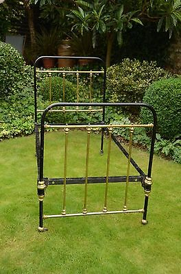 Victorian Brass and Iron Bed