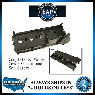 For Golf Jetta Passat Rabbit 2.5L Engine Valve Cover w/Bolts And Gasket New