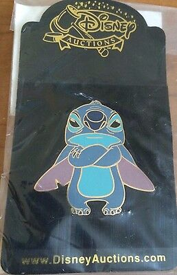 Disney Auctions P.I.N.S. Angry Stitch LE 500 Pin NEW