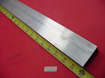 "1""x 2""x 1/8"" Wall ALUMINUM RECTANGLE TUBE 6063 T52 x 60"" Long 1.0""x 2.0"" x .125"""